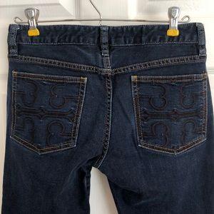 Tory Burch  |  Dark Wash Super Skinny Jeans 📦